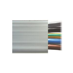 Woertz Flachbandkabel Zaptec Easee Installation